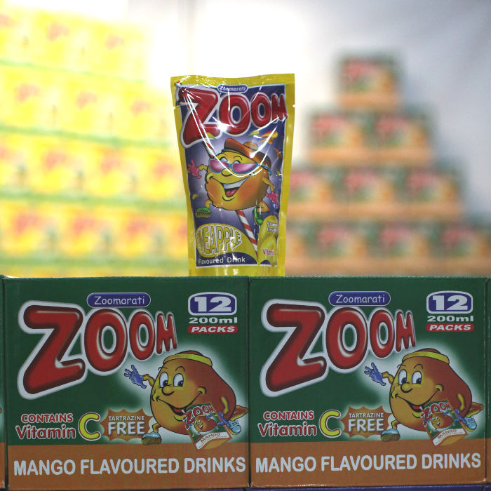 zoom flavoured drinks