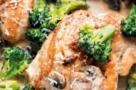 EXHIBITOR NEWS: Recipe for Chicken, Broccoli, Mushroom Béchamel Sauce