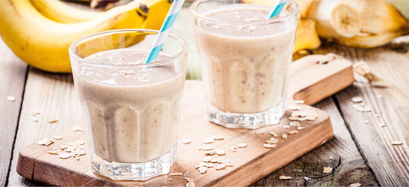 Amazing Banana Smoothie recipe from Koita Milk
