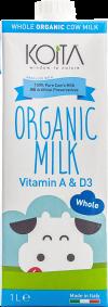 KOITA organic whole milk
