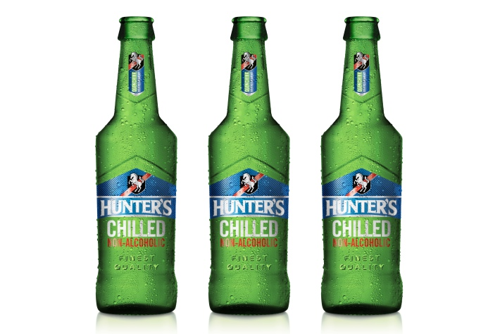 New Hunter's Chilled Non-alcoholic means you can drink a cider wherever, whenever
