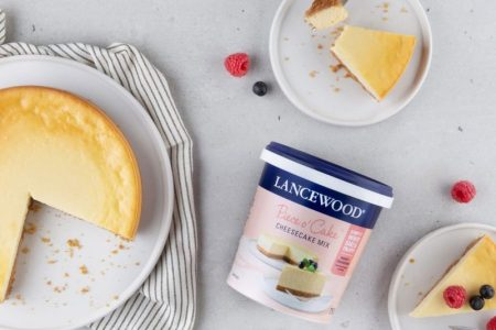 Baking is a piece of cake with Lancewood's new cheesecake mix