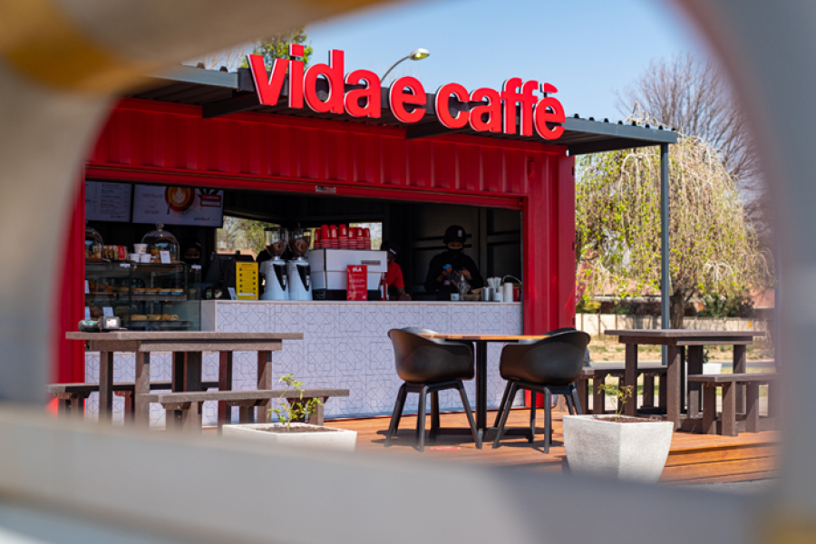 Vide e Caffè saw delivery surge 500% during the pandemic